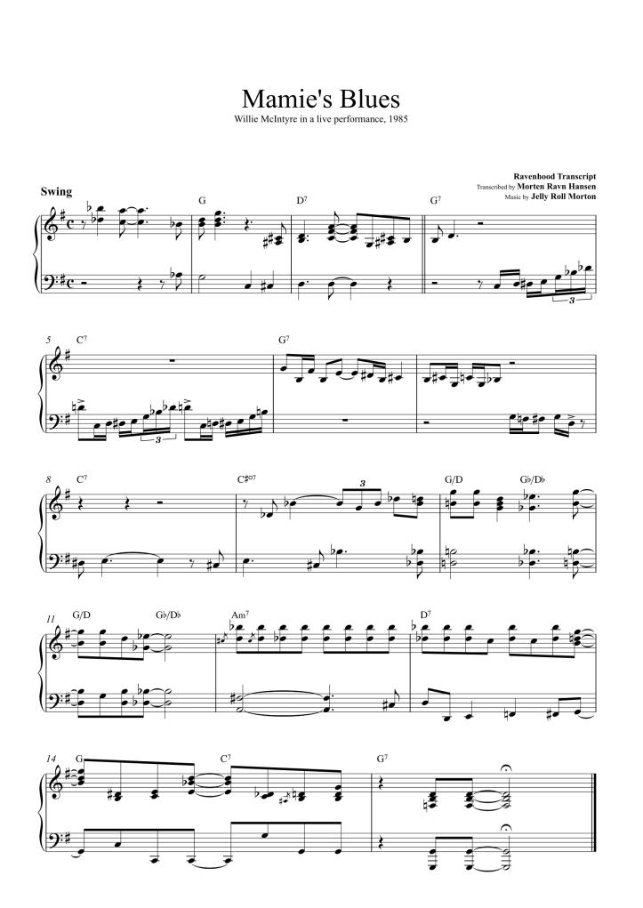 Mamie's Blues Last Chorus-1